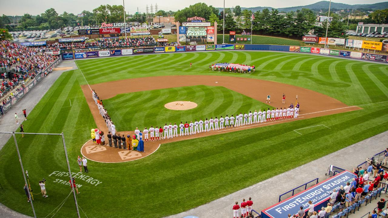 Phillies Home Opener 2020.Fightins Announce 2020 Schedule Reading Fightin Phils News
