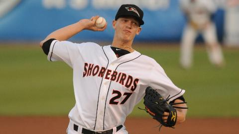 Parker Bridwell will be the opening night starter for the Shorebirds