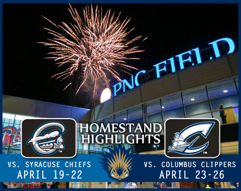Fireworks usher in the eight-game homestand on Friday now. More fun, promotions and bargains follow.