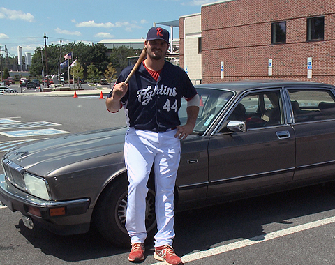 Jim Murphy has given his 1991 Jaguar XJ6 Sovereign to Baseball Charities to raise money for Baer Park.