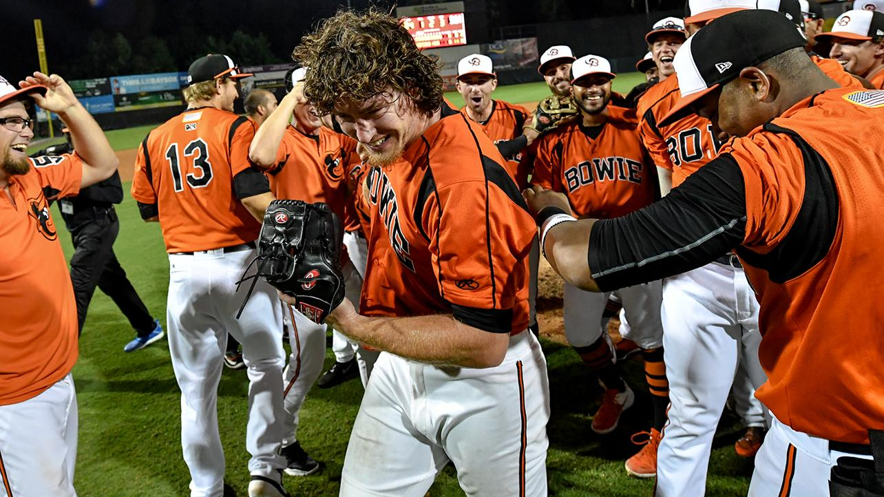 In uncharted territory, Baumann hurls no-no for Baysox