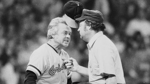The fiery Earl Weaver managed a dozen Minor League seasons before his call-up.