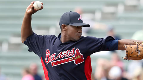 Julio Teheran has spent the past two seasons at Triple-A Gwinnett.