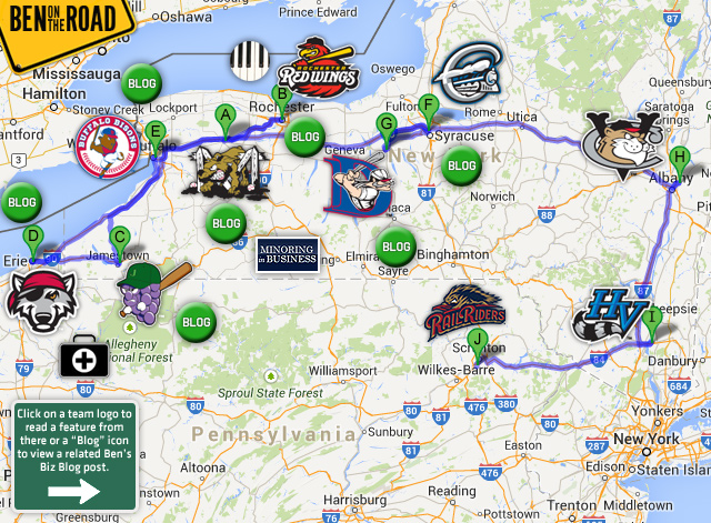 Ben On The Road Recapping 2014 Trips Milb Com News