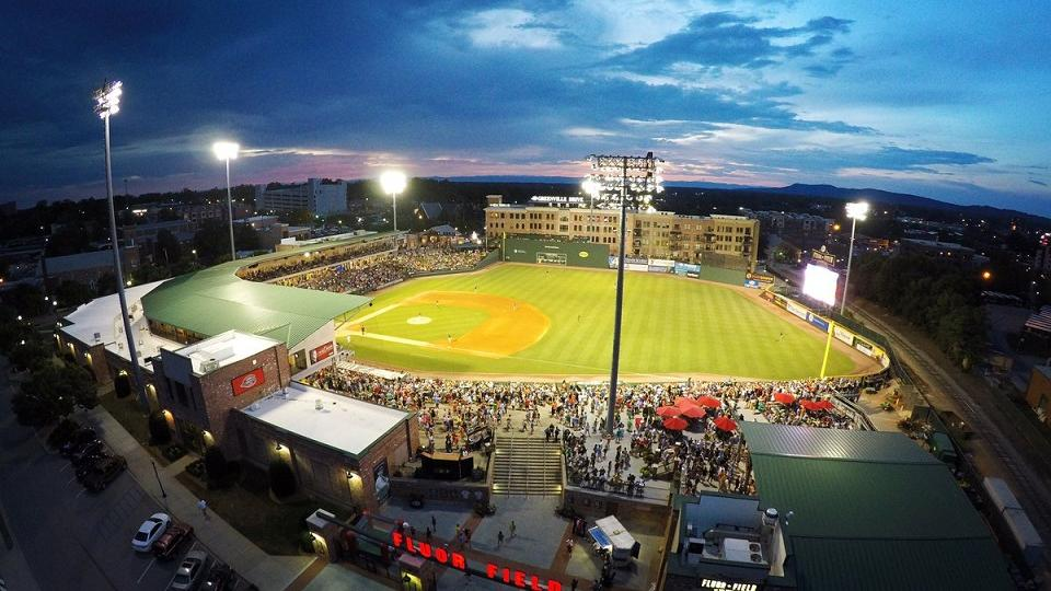 drive set record attendance in thursday s loss greenville drive news