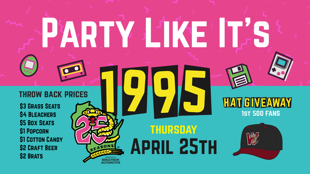 Party Like it's 1995 Night April 25