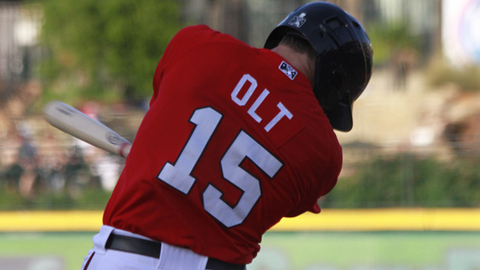 Mike Olt had 28 homers and 82 RBIs in 95 games last season.