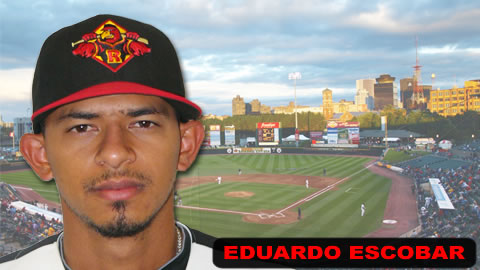 Eduardo Escobar drove in 5 runs on Monday.
