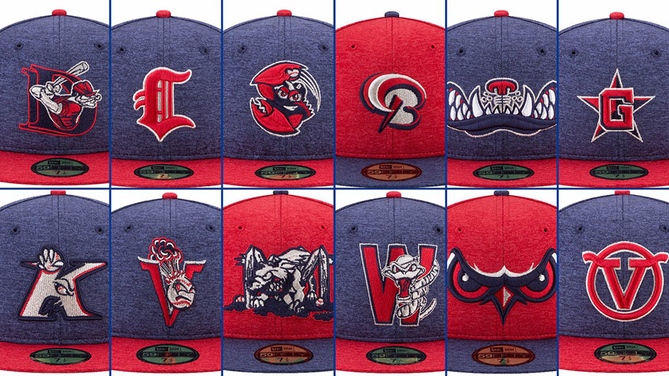 25ee7b2337a MiLB teams to wear special caps over Fourth of July weekend to benefit  Welcome Back Veterans.