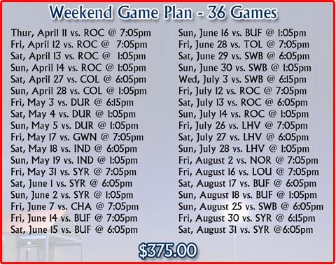 Partial Season Tickets | Pawtucket Red Sox Content