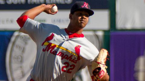 Alex Reyes struck out 145 batters over 111 1/3 innings between the Majors and Minors last season.