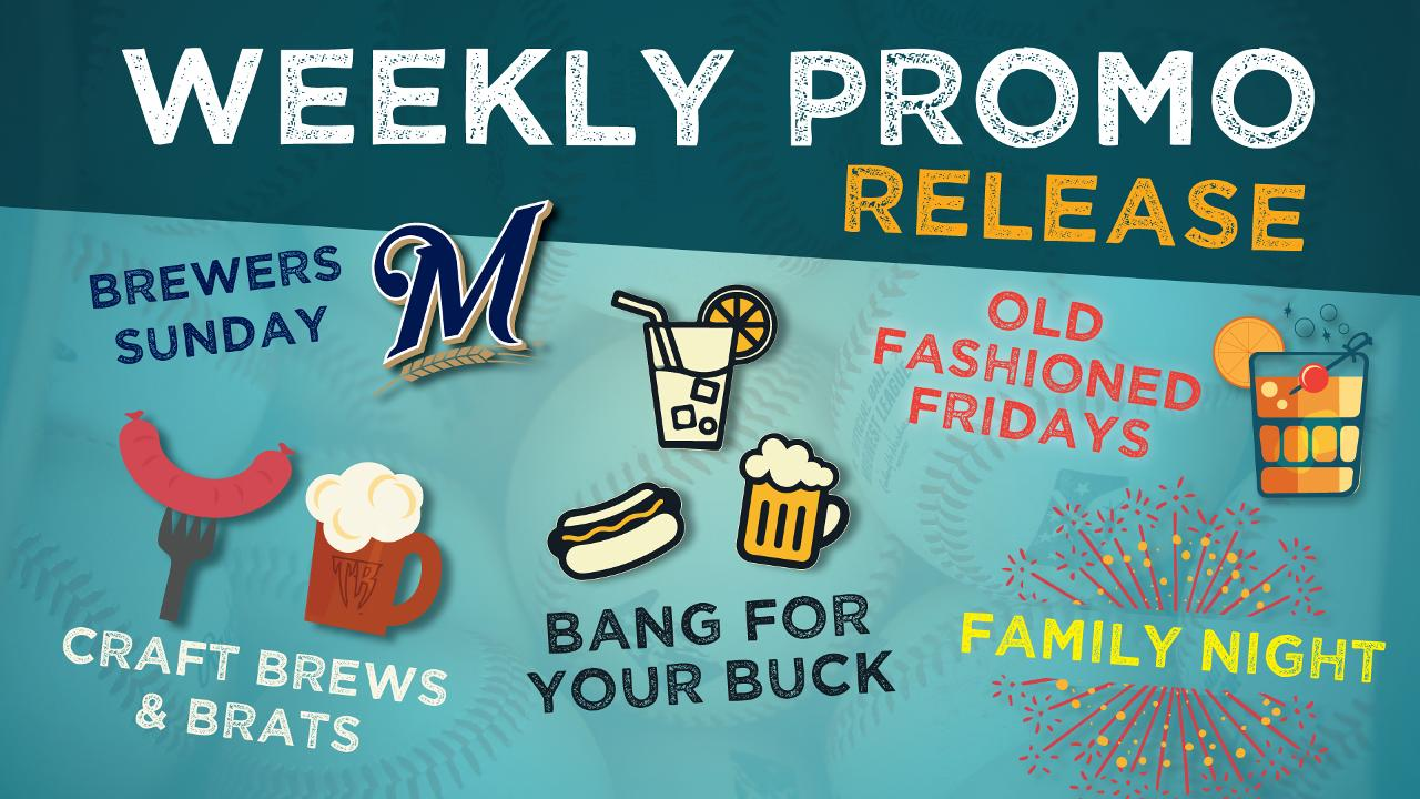 Timber Rattlers Schedule 2020 2019 Timber Rattlers Promotional Calendar: Weekly Promotions