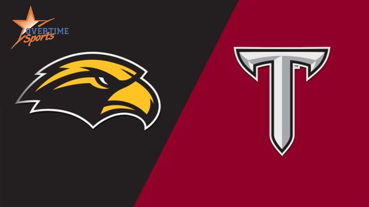 Southern Miss faces Troy on Wednesday at Trustmark Park