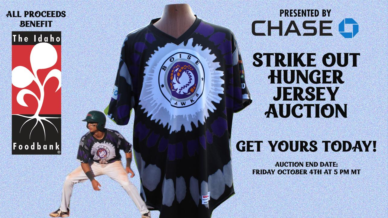 TYE DYE JERSEY AUCTION