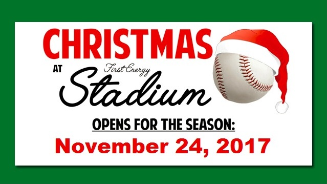 baseballtown will turn into a winter wonderland this holiday season when the fightins and savage 61 chrysler dodge jeep ram host christmas at firstenergy - Baseball Christmas