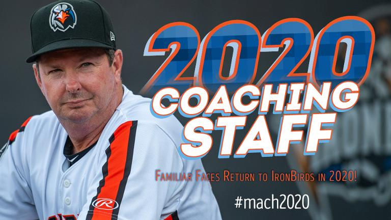 2020 Aberdeen IronBirds Coaching Staff Announced