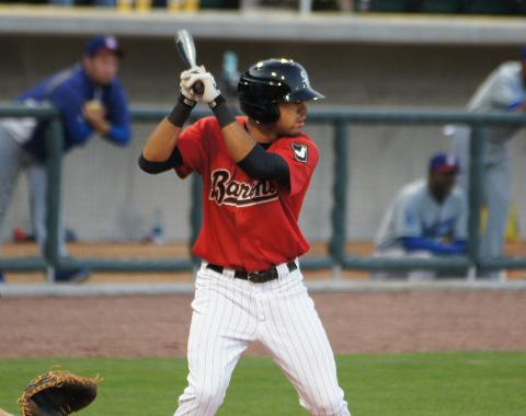 Keenyn Walker, photo credit MiLB.com