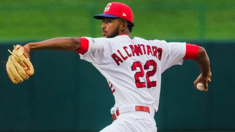 Sandy Alcantara was 4-0 with a 1.73 ERA and 32 strikeouts over 41 1/3 innings in his last seven starts for Springfield.