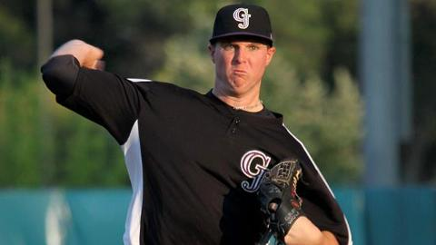 Jonathan Gray has yet to issue a walk in 5 2/3 innings as a pro.