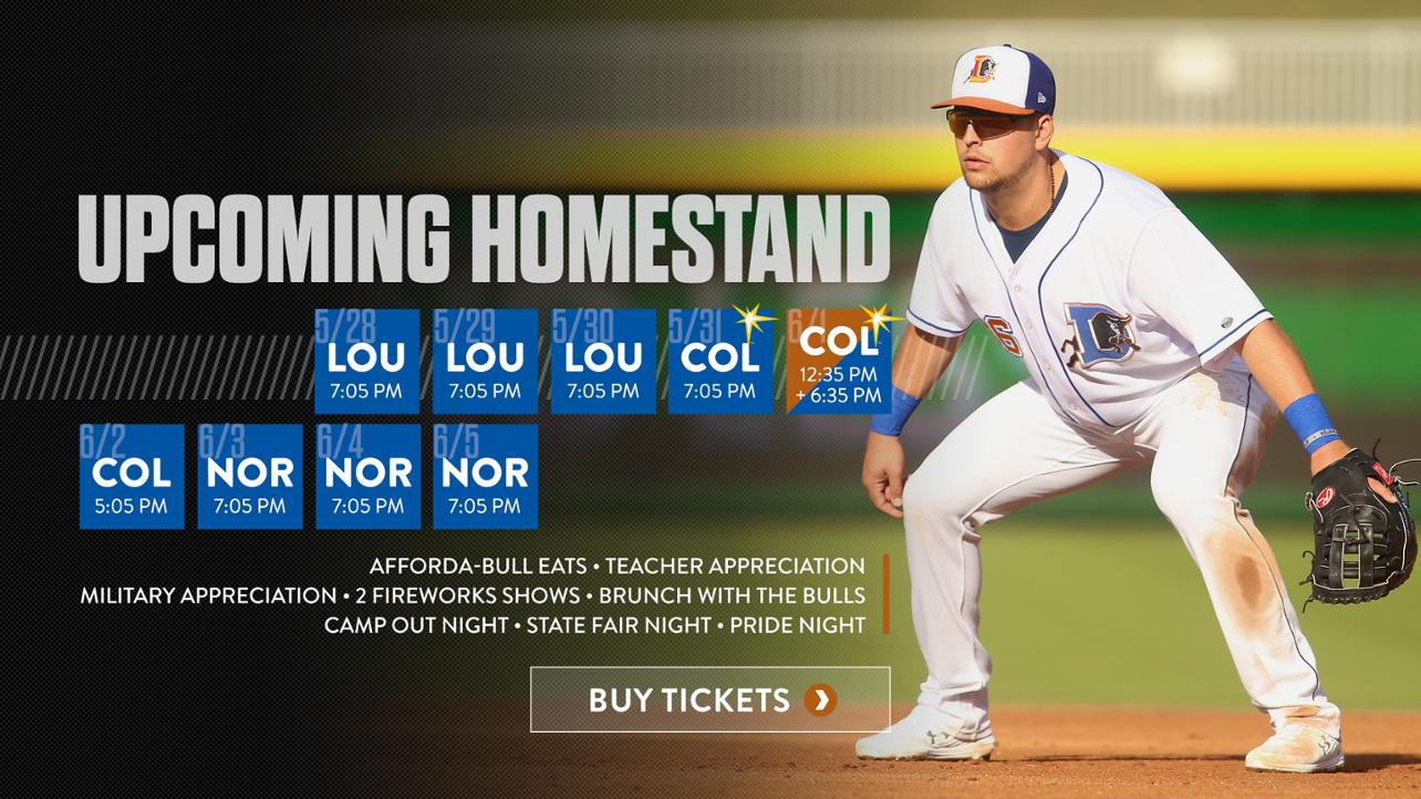 Upcoming Homestand