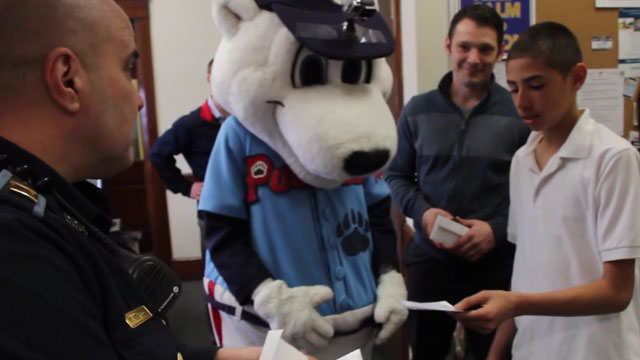 City, Police, PawSox Collaborate on April Fools' Day Shenanigans