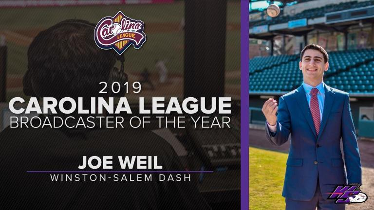 Winston-Salem's Weil named Broadcaster of the Year