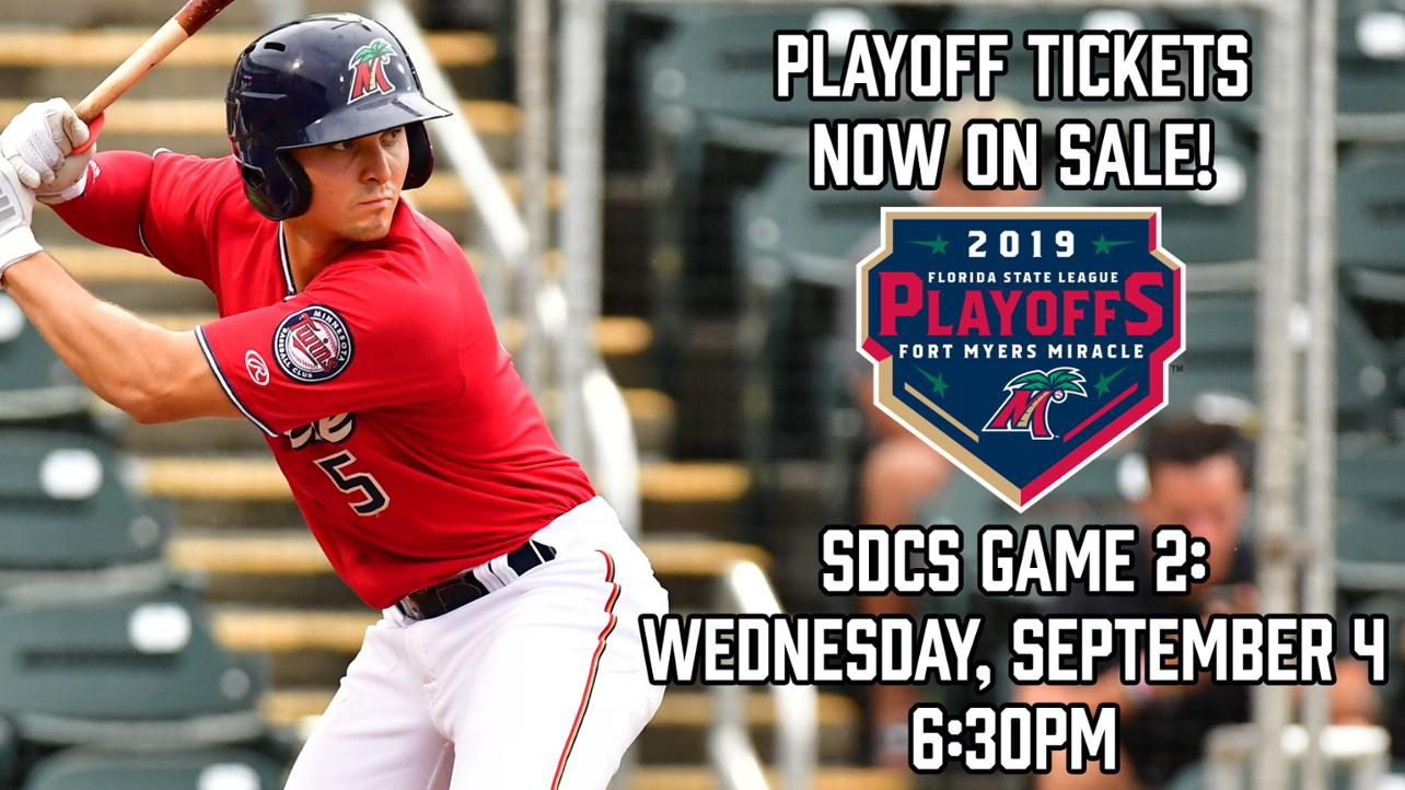Playoff Tickets Now on Sale