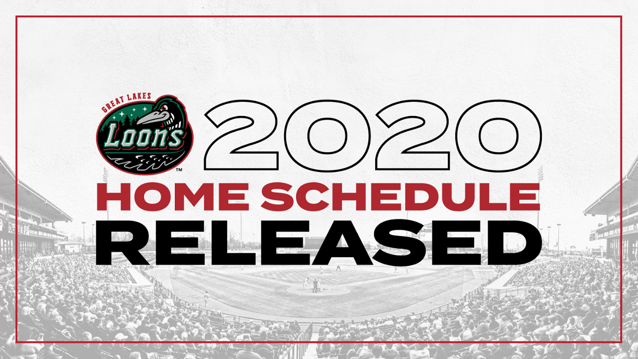 2020 Home Schedule Released