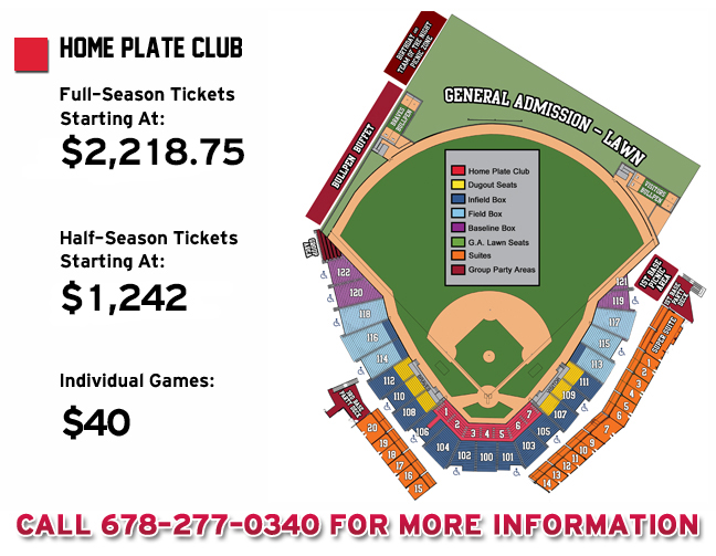 Home Plate Club Gwinnett Braves Content