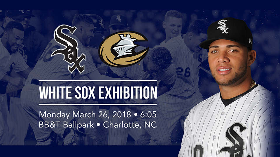 best website 781f8 e10db Knights to Host White Sox on March 26th | Charlotte Knights News
