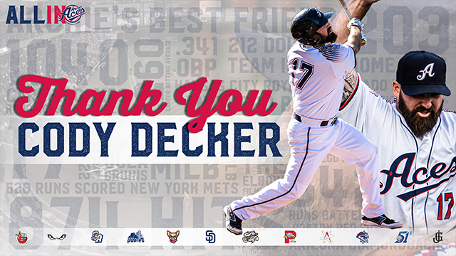 Who is Cody Decker   Reno Aces News