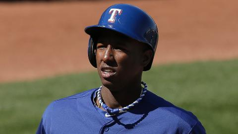 Jurickson Profar had an .820 OPS last season with Double-A Frisco.