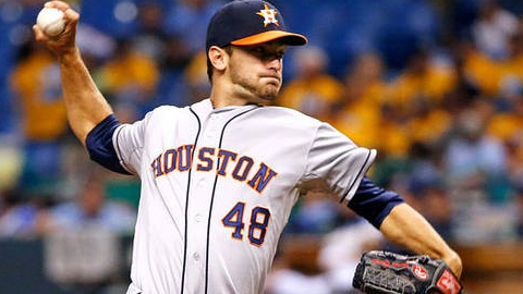 Jarred Cosart notched a 1.95 ERA in 2013 - the lowest in Astros history for any pitcher in his first 10 Major League starts.