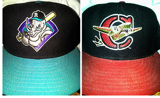 Over the last 10 years I have accumulated over 200 Minor League caps. As  you know 1589b4fe4c8