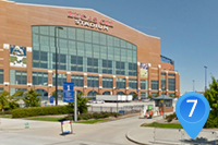 Lucas Oil Stadium Gate 1