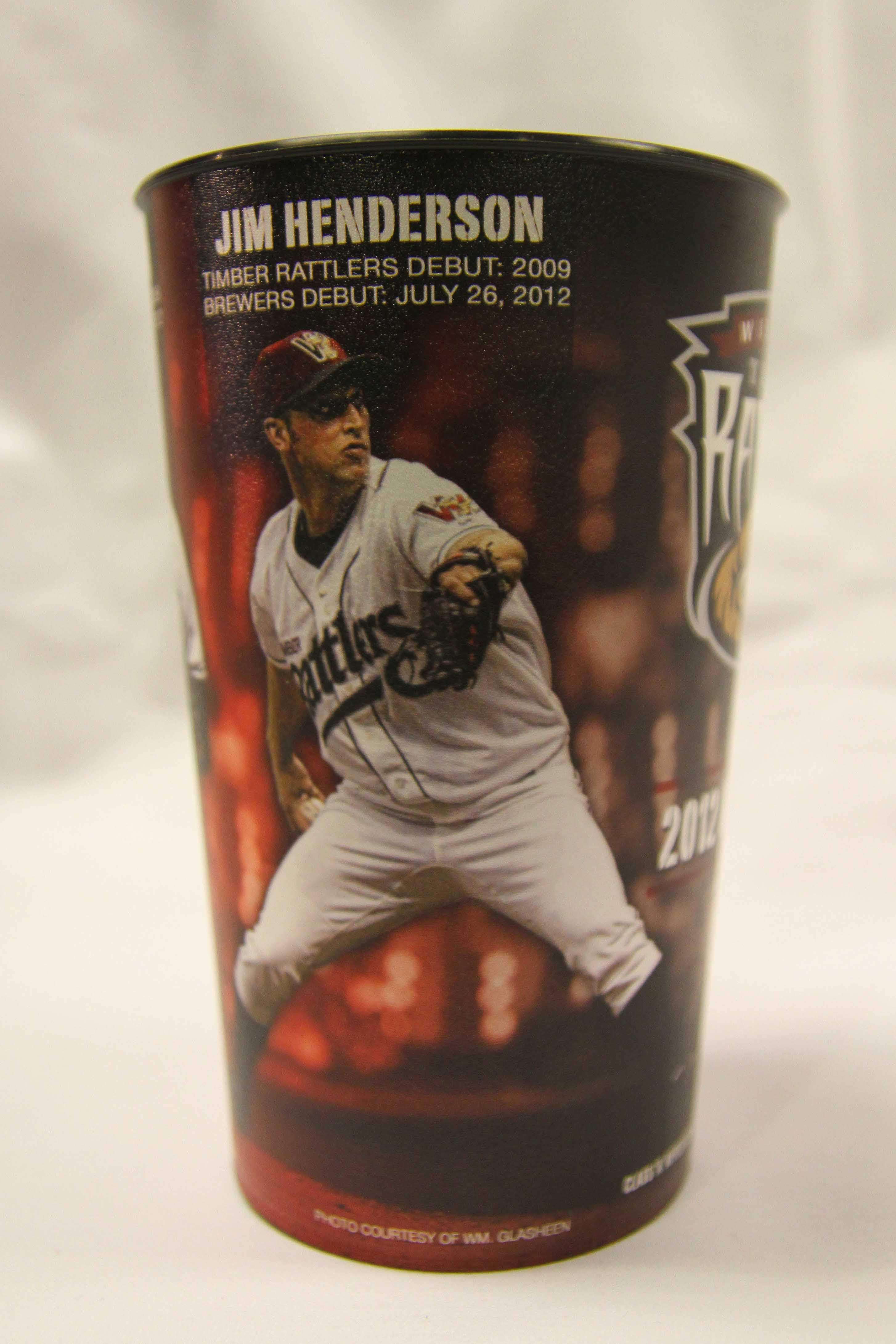 884adb2ed9f99 Cup trivia  Wily Peralta is the first player to twice be immortalized on a  Timber Rattlers cup.