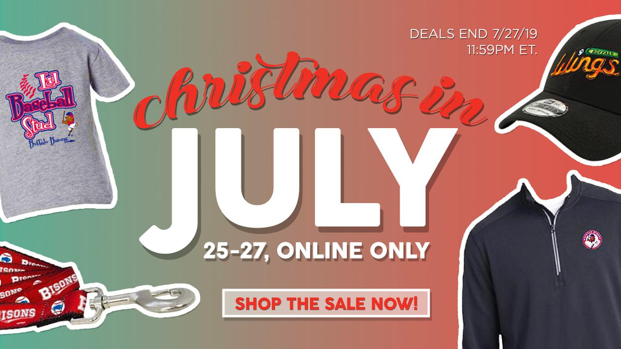 pretty nice 31794 6f6c4 July 25-27: Special Christmas in July Gift Shop sale ...