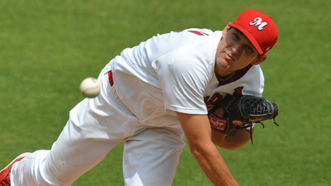 Michael Wacha is 3-0 with a 1.82 ERA in six starts for Memphis.