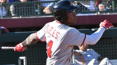 After a year in which he reached the Majors, Victor Robles was named MVP of the Arizona Fall League Fall Stars Game.