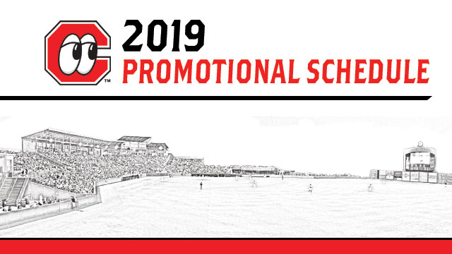 Lookouts 2019 Promotional Schedule | Chattanooga Lookouts News