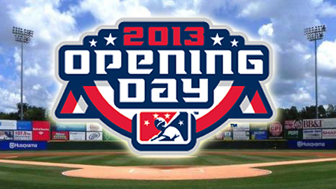 The Knights 2013 home opener is set for Thursday, April 11.