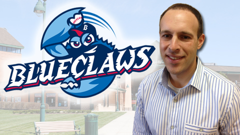 Marano has been with the BlueClaws since their 2001 inception.