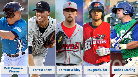 Some of this year's top contenders, including 2012 second-place finisher Rougned Odor.