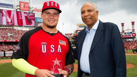 Schwarber leads U.S. to Futures Game rout
