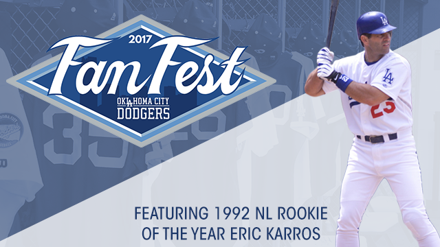 0b18ac5f6b0 Former Rookie of the Year and Los Angeles Dodgers great Eric Karros  scheduled to appear  Free fan event includes behind-the-scenes tours and  Dodger Dog ...