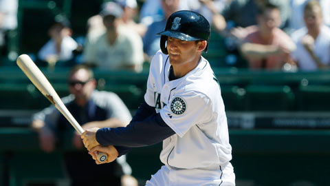 Upon promotion to Seattle, Miller was batting .319 with 12 homers in the Minors.