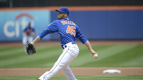 Zack Wheeler compiled a 7-5 record for the Mets in 2013 with a 3.93 ERA in 100 IP.