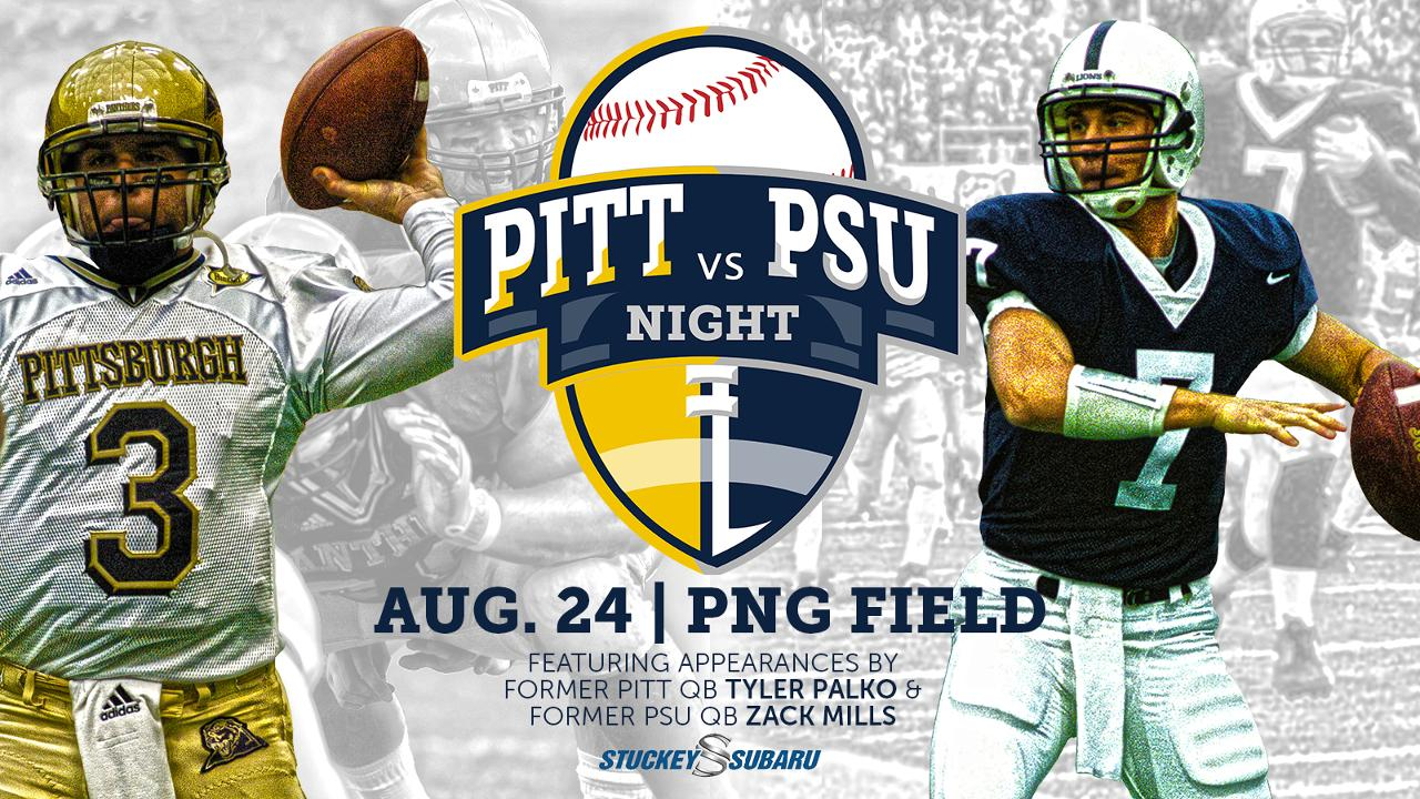 f43b3102 Former Pitt, Penn State quarterbacks will be on hand for Aug. 24 Curve game