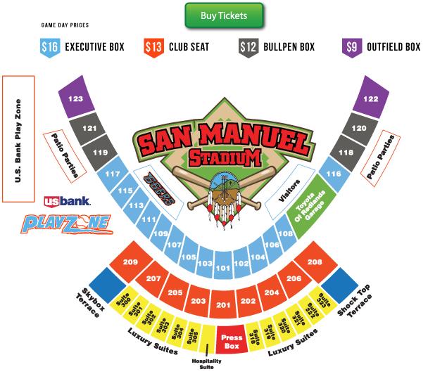 Stadium seating chart inland empire 66ers san manuel stadium