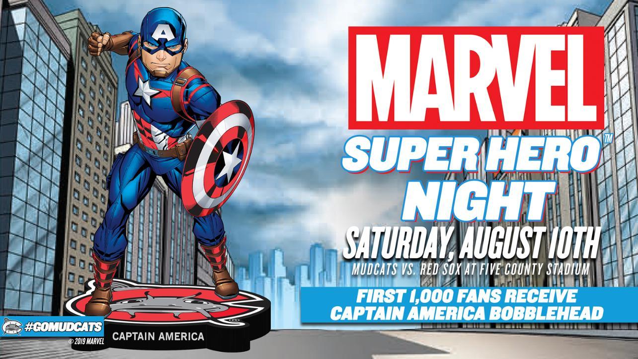 Marvel Super Hero Night